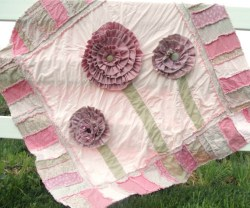 Guest Project — Ruffled Flower Rag Quilt & Free Downloadable Pattern!