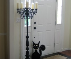 Guest Project — DIY {Halloween} Candelabra