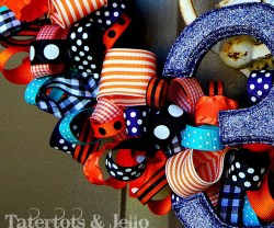 {Happy} Halloween Wreath Tutorial