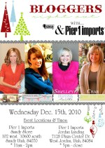 Girls Night Out at Pier1 Imports this Wednesday!!
