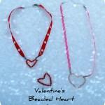Valentine Gift Idea — Make Handmade ♥ Heart ♥ Jewelry! {plus a bunch of winners}