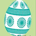 turquoise egg printale