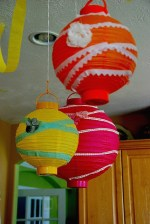 The Candy Party: Part 2 — Embellished Lanterns, Dimensional Magic Necklaces and Goodie Bags
