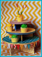 Candy Party: Part 1 — The Cupcake Tower, Candy Bar and Invitations
