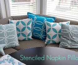stenciled napkin pillows header[4]