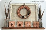 Great Ideas — 20 Festive Fall Mantels!!