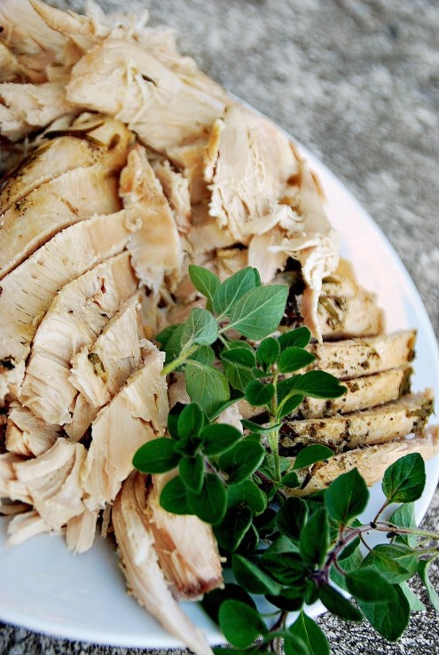 Sliced Olive Oil Turkey