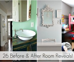 Great Ideas — 26 Before and After Room Reveals!