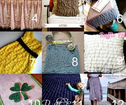 15 Ruffled Fabric Tutorials