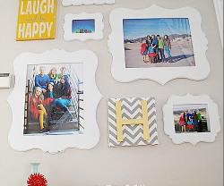 Cut It Out Frames Giveaway — win a picture gallery wall!!
