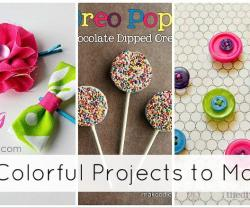 22 colorful projects to make