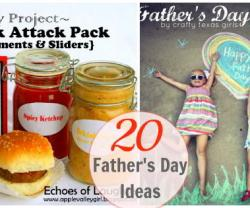 Great Ideas — 20 DIY Father's Day Ideas!!