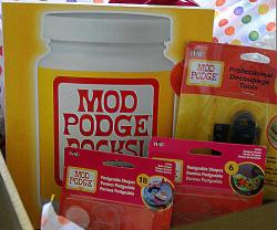 Weekend Wrap Up Party — And Mod Podge Rocks Book and Product Giveaway!