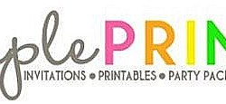 Dimple Prints Giveaway — Win TWO Printable Party Packages ($60 value)!!