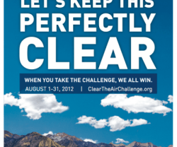 Clear The Air Challenge!!