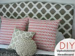 Upholster an Existing Headboard (tutorial)!!