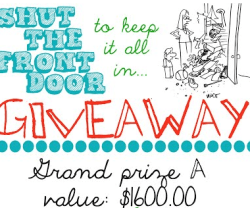 shut the front door giveaway