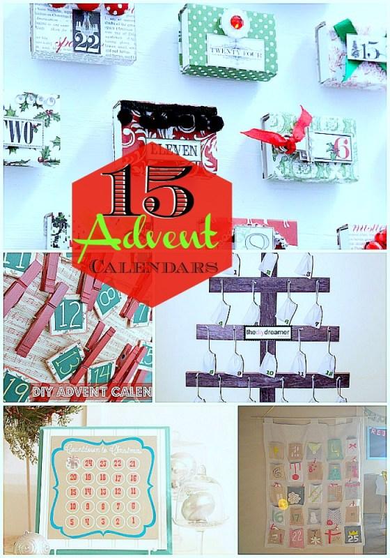 Great Calendar Ideas : Advent calendar ideas