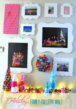 Family Gallery Wall – Holiday Edition!