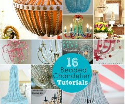 16 DIY Chandelier Tutorials