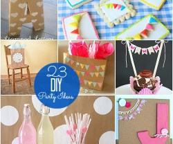 23 diy party ideas