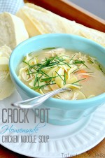 Easy Slow Cooker Chicken Noodle Soup