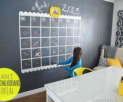 ginat vinyl chalkboard tutorial at Tatertots and Jello