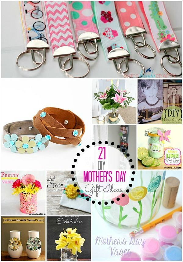 Great Ideas 21 DIY Mothers Day Gift Ideas