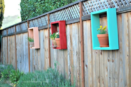redwood flower frames