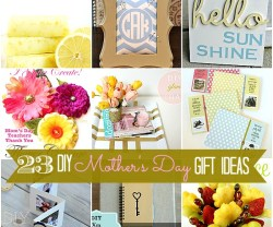 Great Ideas — 23 DIY Mother's Day Gift Ideas to Make!!