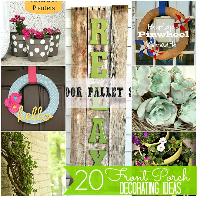 20 Porch Decorating Ideas