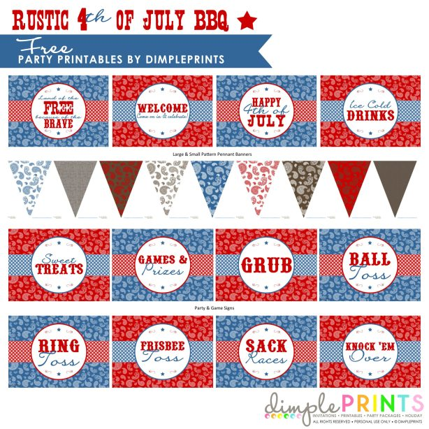 Rustic-4th-July-BBQ-Free-Printable-Party-by-DimplePrints-2