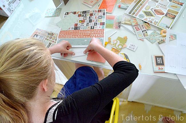 crafting with the girls baic grey
