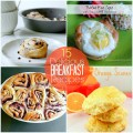 15 breakfast recipes