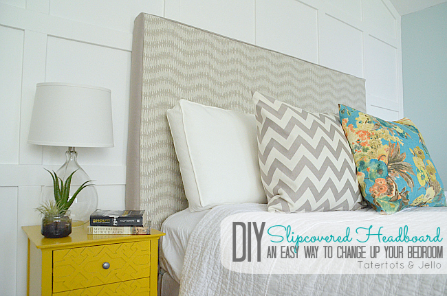 Make a Slipcovered Headboard -- An Easy Way to Change Up Your ...