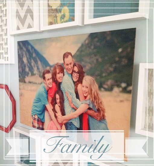 family gallery wall wood art shutterfly