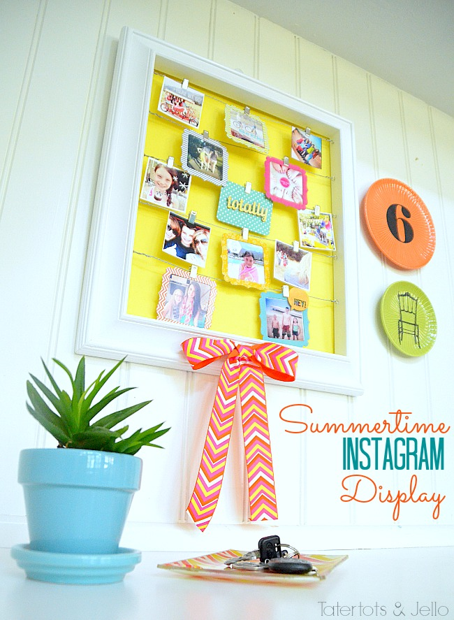 instagram display
