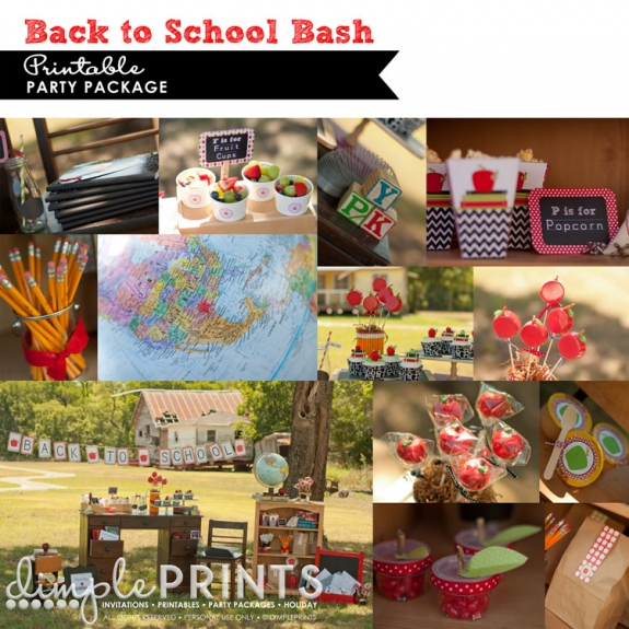 back to school printable package