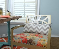how to upholster a chair at tatertots and jello