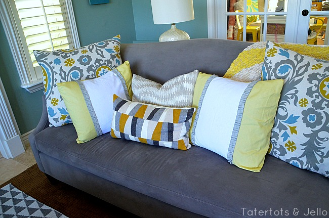 living room pillows slipcovers