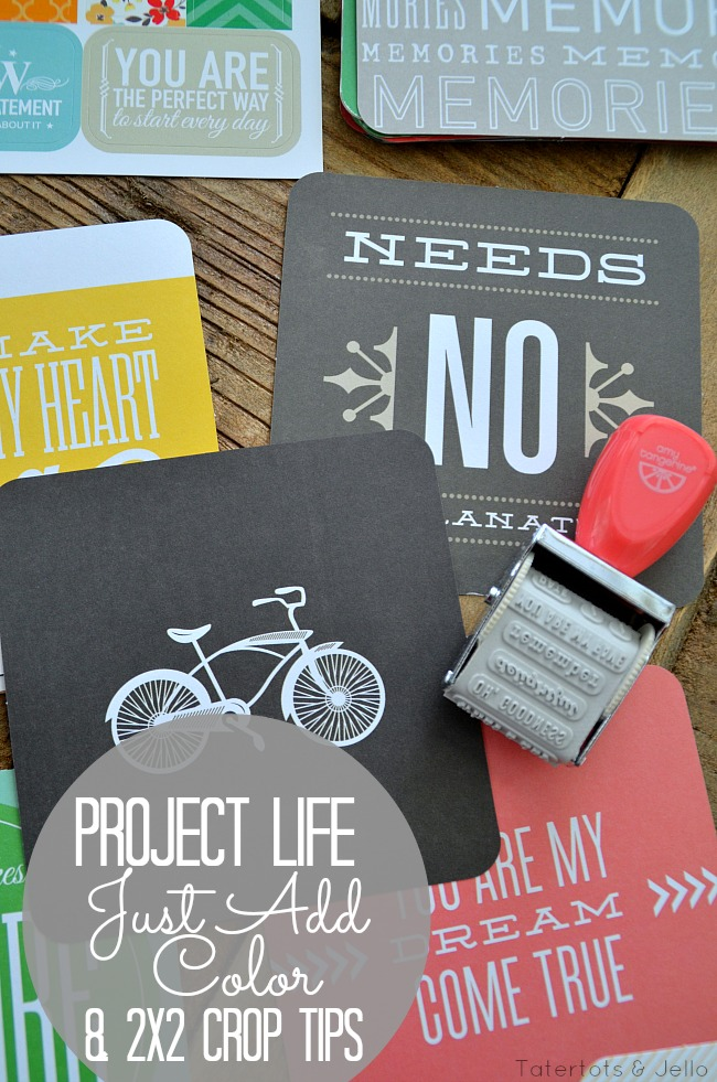 project life just add color kit