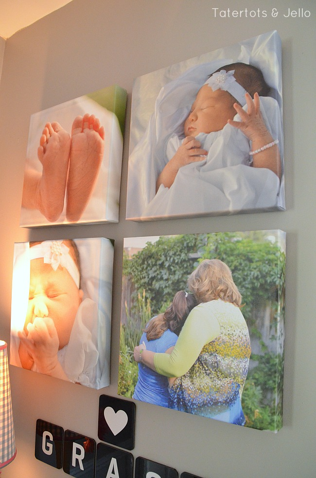 shutterfly canvases tell a story