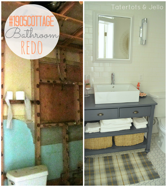1905 cottage bathroom redo
