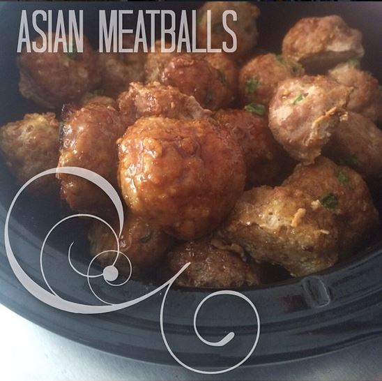 asian meatballs ig