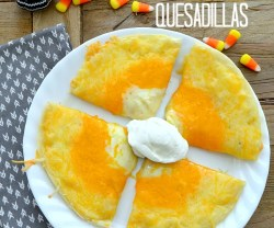candy corn quesadillas at tatertots and jello