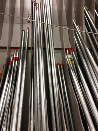 galvanized pipe at lowes