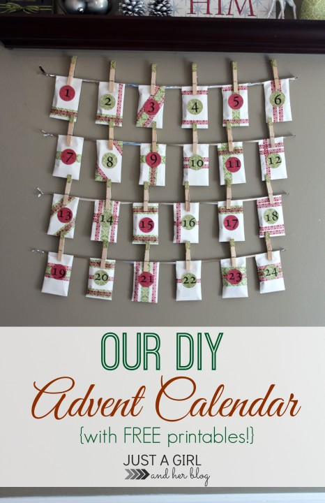 Advent Calendar Ideas For Girls : Great ideas advent calendars