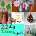 22 diy holiday tree projects