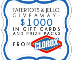Link Party Palooza — and Clorox Giveaway!