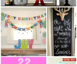 Great Ideas — 22 Happy & Joyful Holiday Ideas!